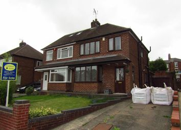 Thumbnail 3 bed semi-detached house for sale in Grange View, Eastwood, Eastwood, Nottingham