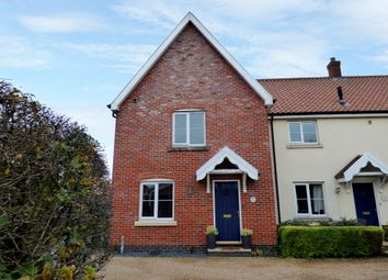 Thumbnail 3 bed end terrace house for sale in Tabernacle Lane, Forncett St. Peter, Norwich
