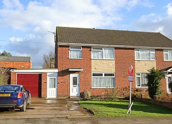Thumbnail 3 bed semi-detached house for sale in Wikeley Way, Brimington, Chesterfield, Derbyshire