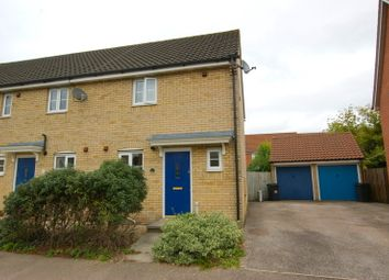 Thumbnail 2 bed end terrace house to rent in Wood Avens Way, Wymondham