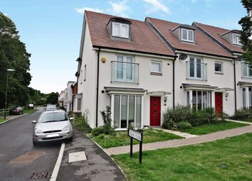 Thumbnail 4 bed end terrace house for sale in Siskin Close, Burgess Hill