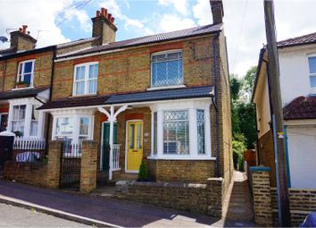 Thumbnail 3 bed end terrace house for sale in New Road, Dartford