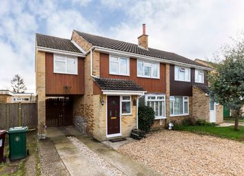 Thumbnail 4 bed semi-detached house for sale in Lauder Close, Emsworth