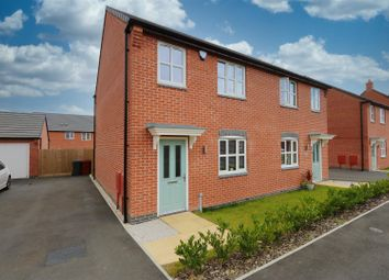 Thumbnail 3 bed semi-detached house for sale in Burton Street, Wingerworth, Chesterfield, Derbyshire