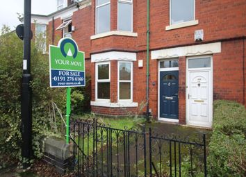 Thumbnail 2 bed flat for sale in Rothbury Terrace, Heaton, Newcastle Upon Tyne
