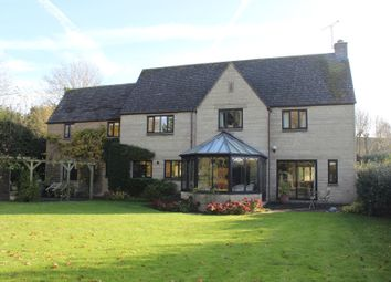 Thumbnail 5 bed detached house for sale in Giles Avenue, Cricklade, Swindon