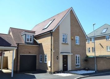 Thumbnail 4 bed detached house for sale in Canal Way, Pineham Lock, Northampton
