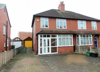 Thumbnail 3 bed semi-detached house for sale in Meole Rise, Shrewsbury
