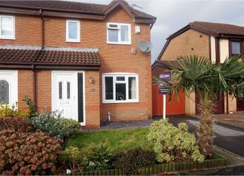 Thumbnail 3 bed semi-detached house for sale in Arkenstone Close, Widnes