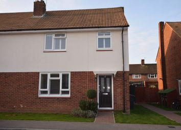 Thumbnail 3 bed semi-detached house to rent in Woodcock Avenue, Walters Ash, High Wycombe