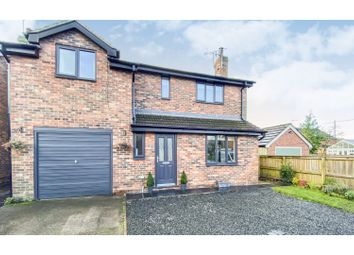 Thumbnail 4 bed detached house for sale in Little Heath Close, Audlem, Crewe