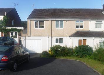 Thumbnail 4 bed semi-detached house for sale in 29 Gwerneinon Road, Derwen Fawr, Swansea