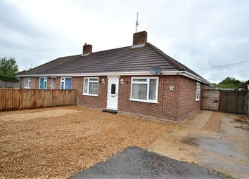 Thumbnail 3 bedroom semi-detached bungalow for sale in Coronation Road, Clenchwarton, King's Lynn
