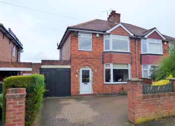 Thumbnail 3 bedroom semi-detached house for sale in Freeby Avenue, Mansfield Woodhouse, Mansfield