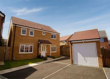 Thumbnail 4 bed detached house for sale in Belfry Close, Ashington, Northumberland