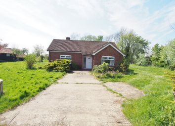 Thumbnail 3 bed detached bungalow for sale in Bush Green, Great Ellingham, Attleborough