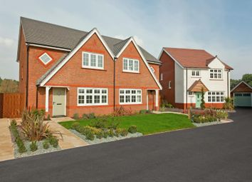 Thumbnail 3 bed semi-detached house for sale in The Avenue, Wilton, Wiltshire