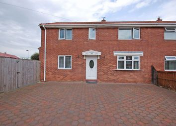 Thumbnail 3 bed semi-detached house for sale in Runswick Avenue, Longbenton, Newcastle Upon Tyne