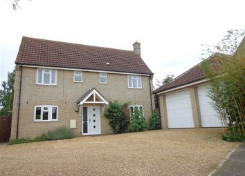 Thumbnail 4 bedroom detached house to rent in Trent Vc Close, Methwold, Thetford