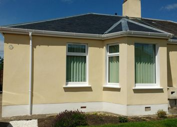Thumbnail 2 bed semi-detached bungalow to rent in Lochside Road, Ayr