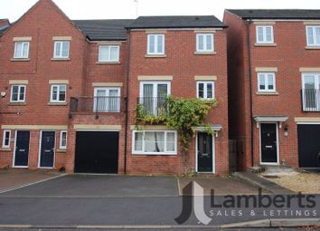 Thumbnail 4 bedroom terraced house for sale in Dixon Close, Redditch