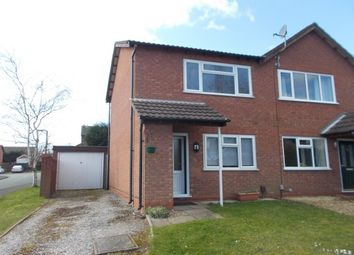 Thumbnail 2 bed property to rent in Curlew Close, Lichfield
