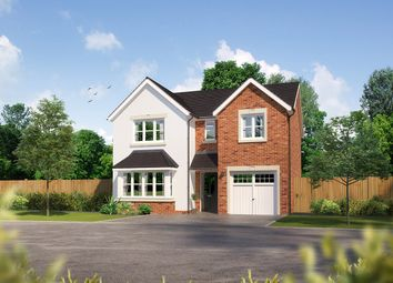 "Thumbnail 4 bedroom detached house for sale in ""Hampsfield II"" at Whittingham Lane, Broughton, Preston"