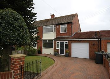 Thumbnail 3 bed semi-detached house for sale in Woodlands Road, Cleadon, Sunderland