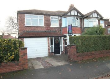 Thumbnail 4 bed semi-detached house for sale in Craddock Road, Sale
