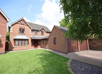 Thumbnail 4 bed detached house for sale in Hunsbury Hill Avenue, Northampton