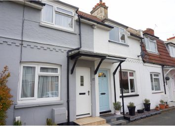 Thumbnail 2 bed terraced house for sale in Stourbank Road, Christchurch