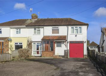 Thumbnail 3 bed semi-detached house for sale in Lower Luton Road, Wheathampstead, St. Albans, Hertfordshire