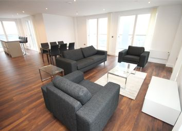 Thumbnail 3 bed flat to rent in New Bridge Street, Manchester, Greater Manchester