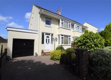 Thumbnail 4 bed semi-detached house for sale in Higher Cadewell Lane, Shiphay, Torquay, Devon