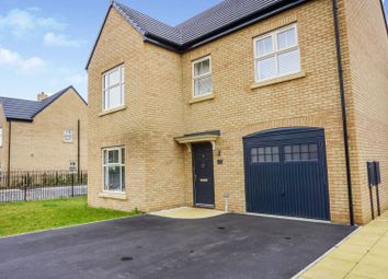 Thumbnail 4 bedroom detached house for sale in Malton Way, Adwick Le Street
