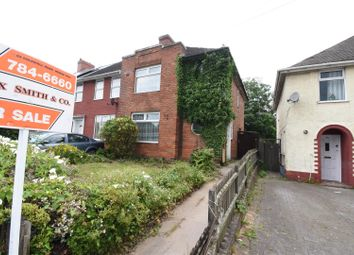 Thumbnail Town house for sale in Bromford Lane, Ward End, Birmingham