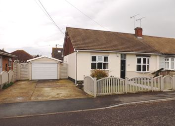 Thumbnail 2 bed semi-detached bungalow for sale in Denham Road, Canvey Island