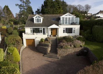 Thumbnail 4 bed detached house for sale in Rock End Avenue, Torquay