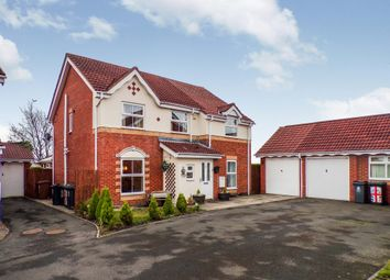 Thumbnail 4 bedroom detached house for sale in Woodlea, Forest Hall, Newcastle Upon Tyne