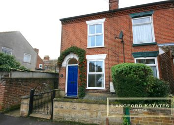 Thumbnail 3 bedroom end terrace house for sale in Norman Road, Norwich