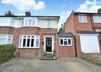 Thumbnail 3 bed semi-detached house for sale in Holmwood Avenue, Sanderstead, South Croydon