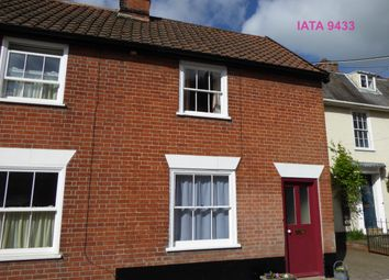 Thumbnail 2 bedroom end terrace house to rent in School Road, Coddenham, Ipswich