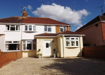 Thumbnail 3 bedroom semi-detached house for sale in Wolverton Road, Haversham, Milton Keynes, Buckinghamshire