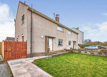 Thumbnail 3 bed semi-detached house for sale in Golf Avenue, Dumfries, Dumfries And Galloway