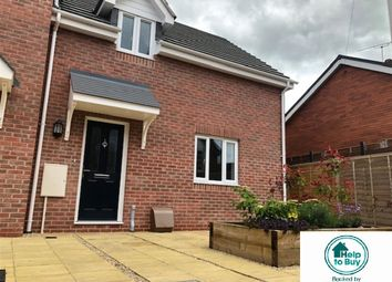 Thumbnail 3 bedroom semi-detached house for sale in Printers Mews, Laundry Lane, Leominster