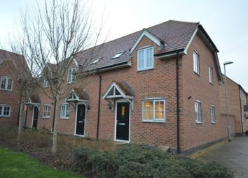 Thumbnail 2 bed semi-detached house to rent in Holdenby Drive, Priors Hall, Corby