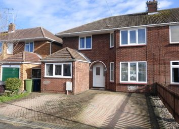 Thumbnail 4 bed semi-detached house for sale in Farrant Avenue, Churchdown, Gloucester