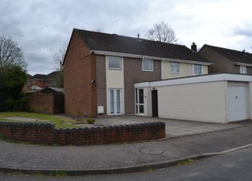 Thumbnail 3 bed semi-detached house for sale in Gilbert Road, Lichfield, Staffordshire