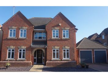 Thumbnail 4 bed detached house for sale in Haywain Drive, Deeping St Nicholas