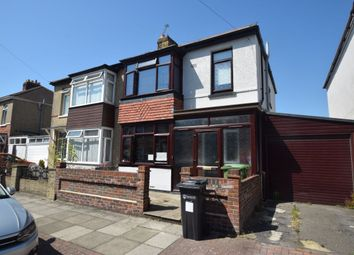 Thumbnail 3 bed semi-detached house to rent in Paignton Avenue, Portsmouth